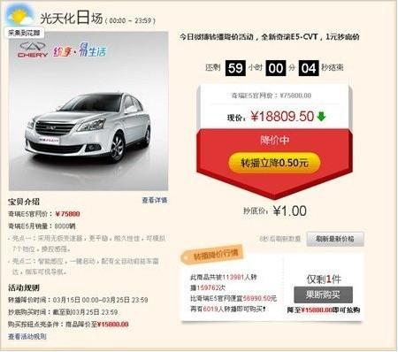 奇瑞汽车微博营销成功案例