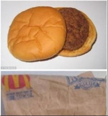负面缠身:麦当劳汉堡存14年不变质.png